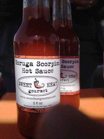 Moruga Scorpion Hot Sauce