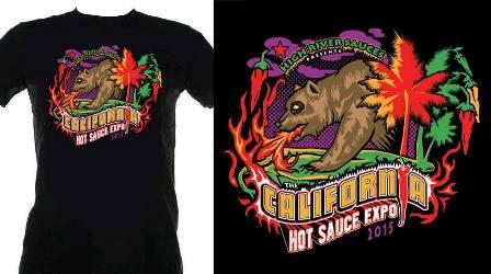 CA Expo t-shirt design resized