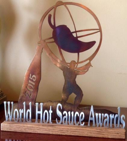 World Hot Sauce Award pic